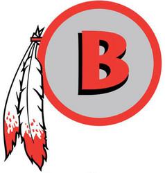 Braves sports logo vector