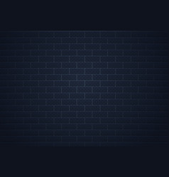 brick dark wall realistic grunge cement surface vector image