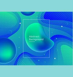 liquid color background design vector image