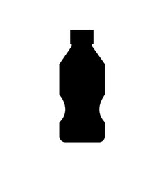 water plastic bottle icon soda lemonade isolated vector image