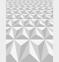 pattern of triangle background vector image