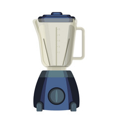 blender liquidiser kitchen appliance used to mix vector image vector image