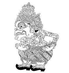 Bagong raja vector