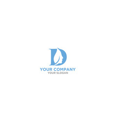 D skin care logo design vector