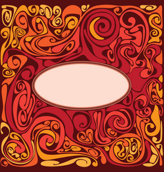 fire abstract vector image