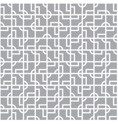 intricate geometrical tiles seamless pattern vector image