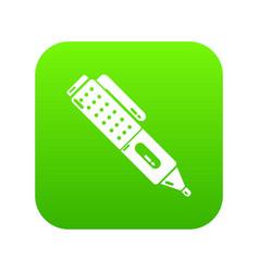 marker pen school icon simple black style vector image