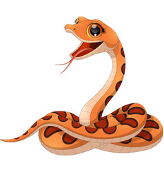 Petite funny snake vector