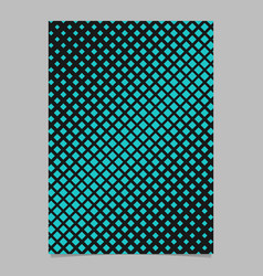 retro halftone diagonal square pattern background vector image