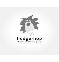 Abstract hedgehog logo icon concept Logotype vector image