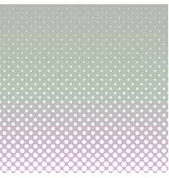 halftone dot pattern background - gradient design vector image vector image