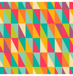 right triangle pattern vector image
