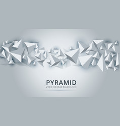 polygon abstract polygonal geometric triangle vector image