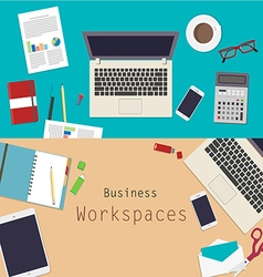 01 Business workspace vector