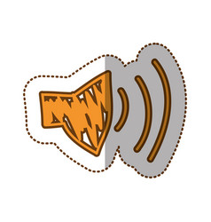 audio volume technology icon vector image