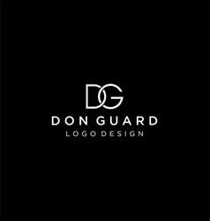 dg logo vector image