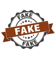 Fake stamp sign seal vector