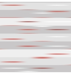 Grey striped pattern with red speckles vector