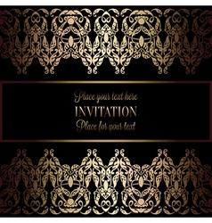 Invitation decorative 26 vector