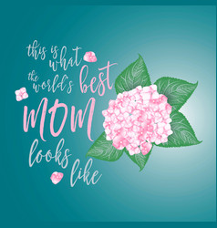 mothers day background layout vector image