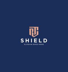 Rc shield logo vector