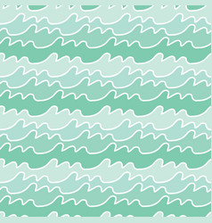 Seamless sea pattern vector
