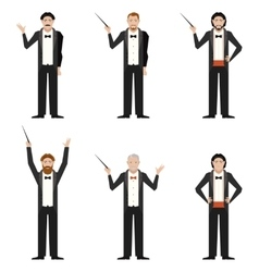 Set of Conductors vector image