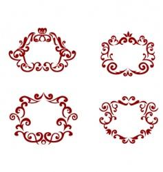 Decorations vector