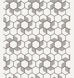 abstract geometric seamless graphic hipster vector image vector image