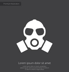 respirator premium icon vector image