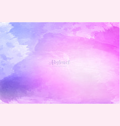 abstract colorful watercolor background design vector image