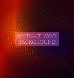 Abstract wavy background6 vector