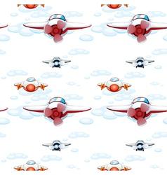 aeroplanes vector image