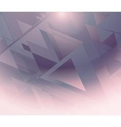 Backgroun triangle vector image