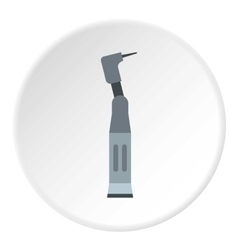 Dental equipment icon flat style vector image
