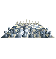 game of chess vector image
