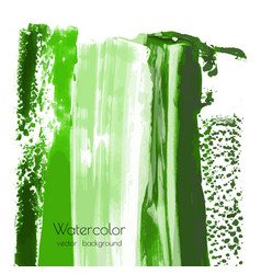 Greenery watercolor texture background vector