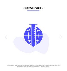 our services market analysis analysis data market vector image