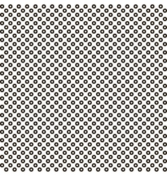 pattern black circle white circle inside seamless vector image