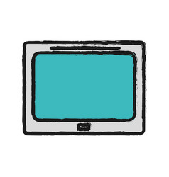 Technology television information service data vector