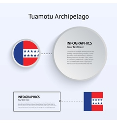 Tuamotu Archipelago Country Set of Banners vector