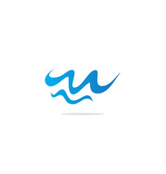Wave water abstract logo vector