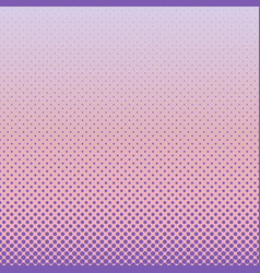 halftone dot pattern background - gradient graphic vector image vector image