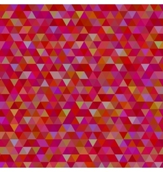abstract red triangles background vector image