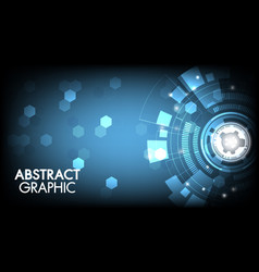 abstract technology innovation background vector image