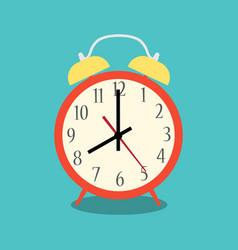 alarm clock red vector image