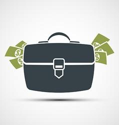 Briefcase Stock vector