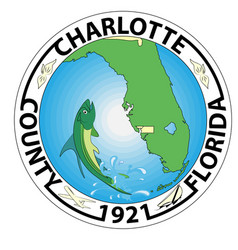 coat arms charlotte county in florida usa vector image