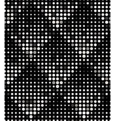 Halftone Rhombus Tiles Silver Metal Colors vector
