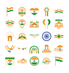 Happy independence day india freeedom celebration vector